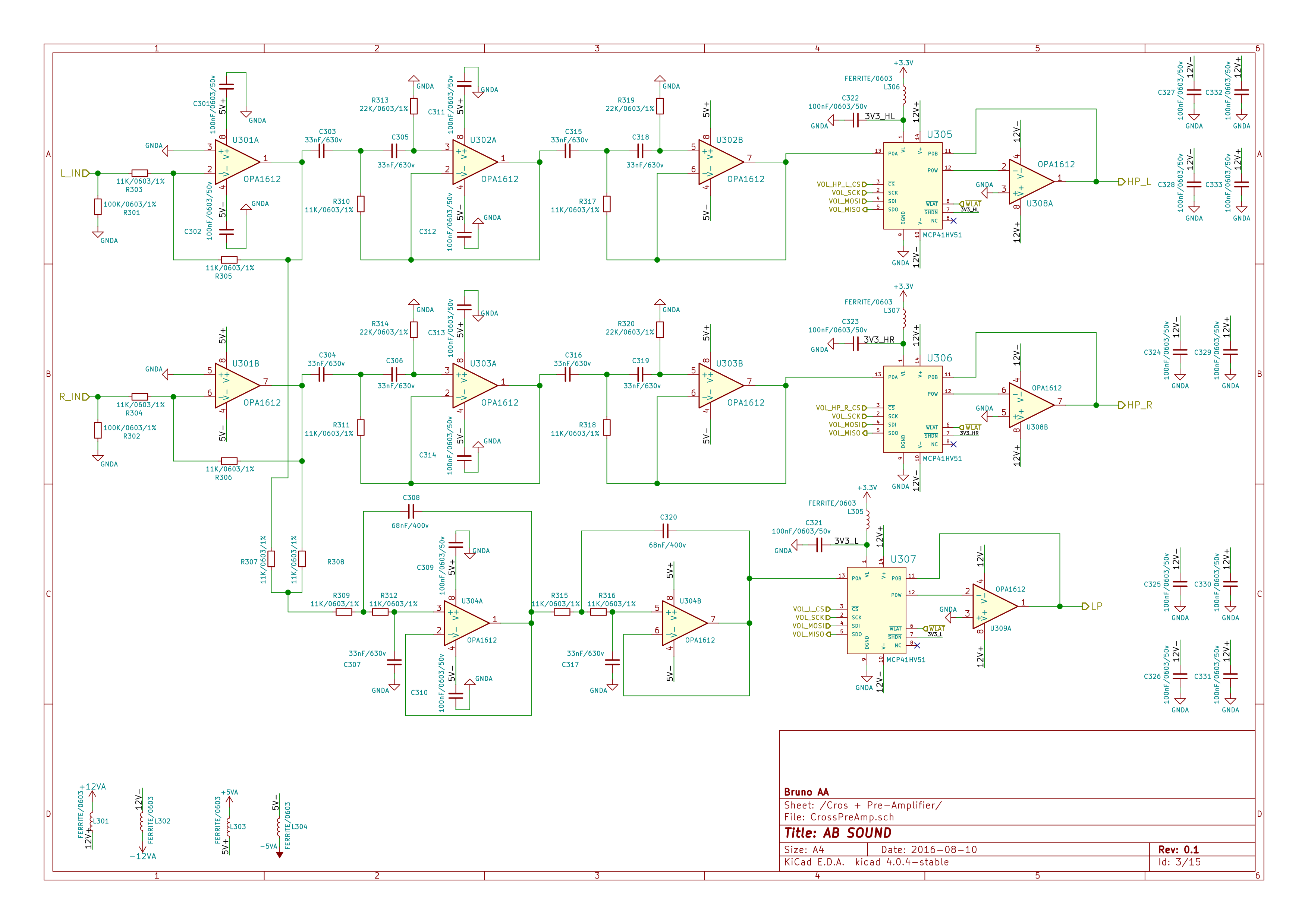 Class Ab Sound System Part I Main Board Schematic Bruno Aa Symbols Where To Find Diyaudio Cross Preamp